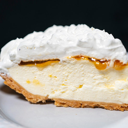 Lilikoi Cheese Pie
