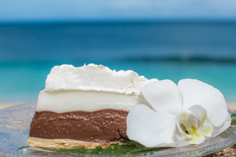 Ted's Bakery のチョコレート・ハウピアクリーム・パイ